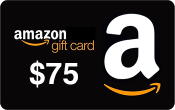 $75 Amazon Gift Card